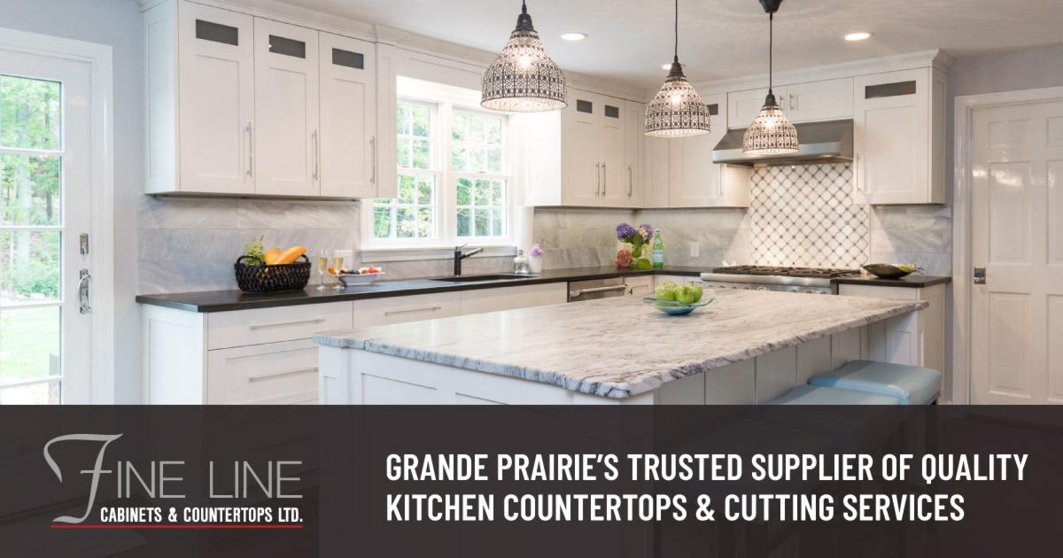 Fine Line Cabinets Counter Tops Grande Prairie Ab